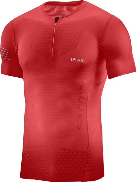Salomon S/Lab Exo - Camiseta Running Hombre - rojo